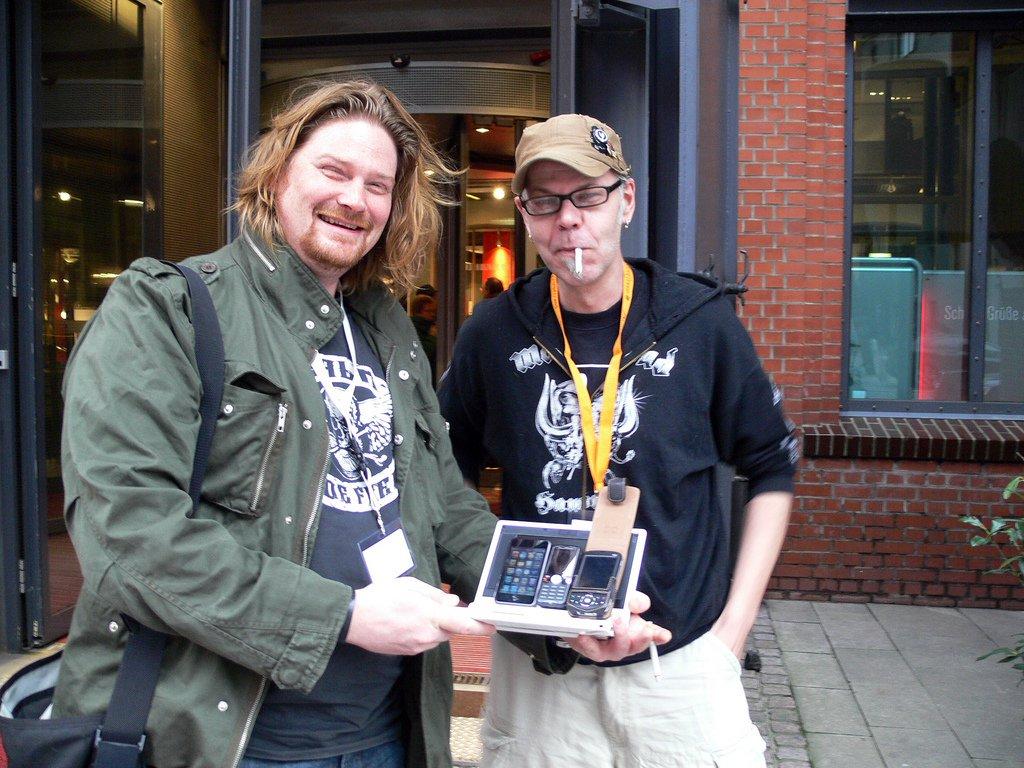 Der EeePC auf dem WordCamp 2008 in Hamburg
