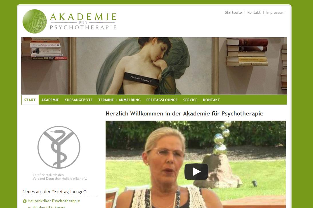 """Akademie für Psychotherapie - <a href=""""https://www.akademie-psychotherapie.de/"""" title=""""Akademie Psychotherapie"""" target=""""_blank"""">akademie-psychotherapie.de</a>"""