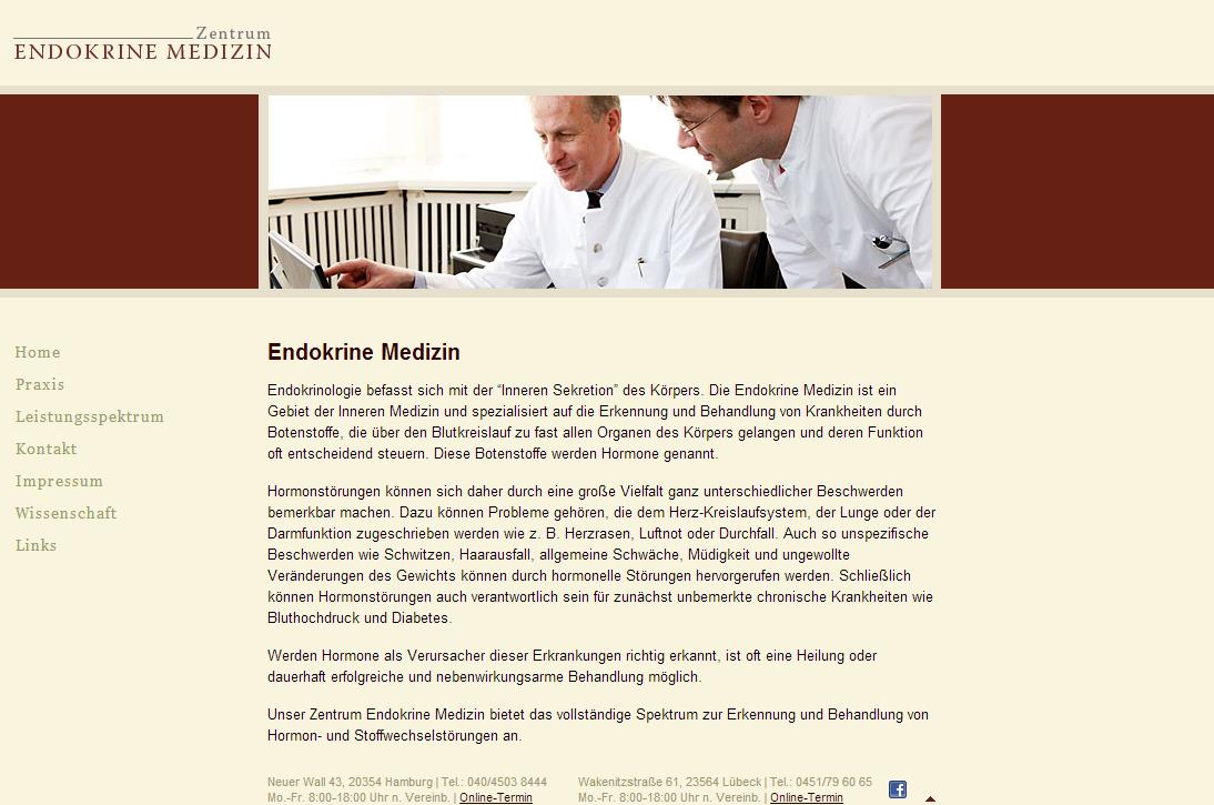 "Ednokrine Medizin - <a href=""https://www.endokrinemedizin.de/"" title=""Ednokrine Medizin"" target=""_blank"">www.endokrinemedizin.de</a>"