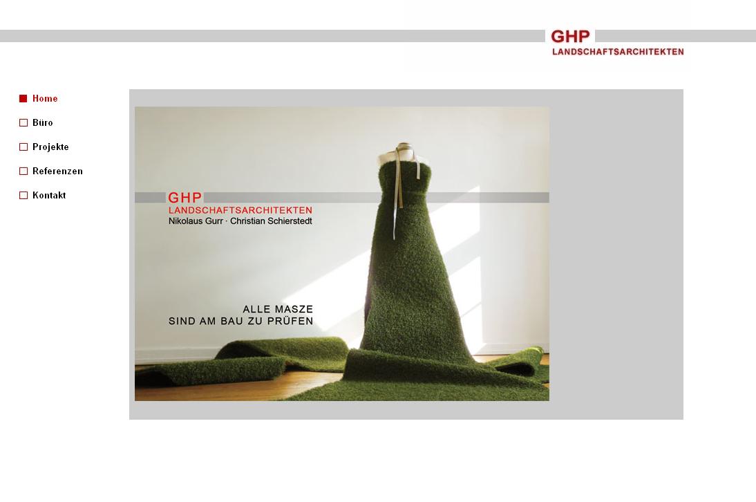GHP Landschaftsarchitekten - GHP Landschaftsarchitekten