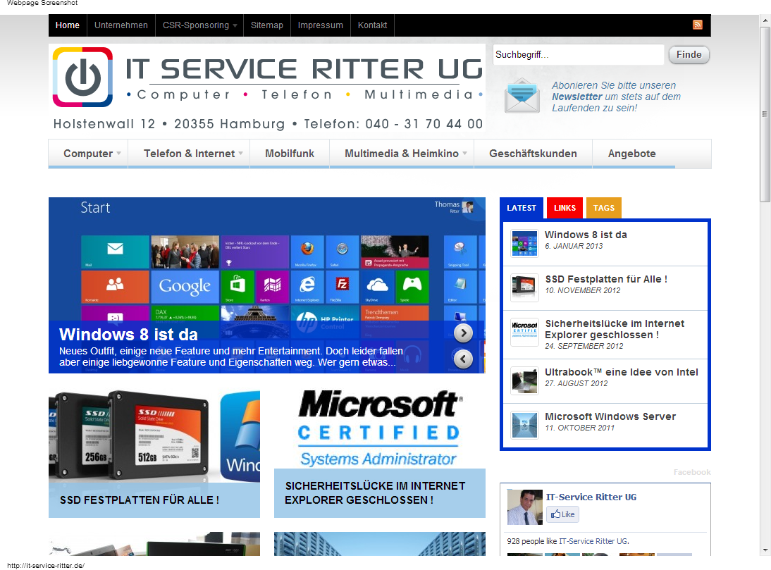 """IT Service Ritter - <a href=""""https://it-service-ritter.de/"""" title=""""IT Service Ritter"""" target=""""_blank"""">it-service-ritter.de</a>"""
