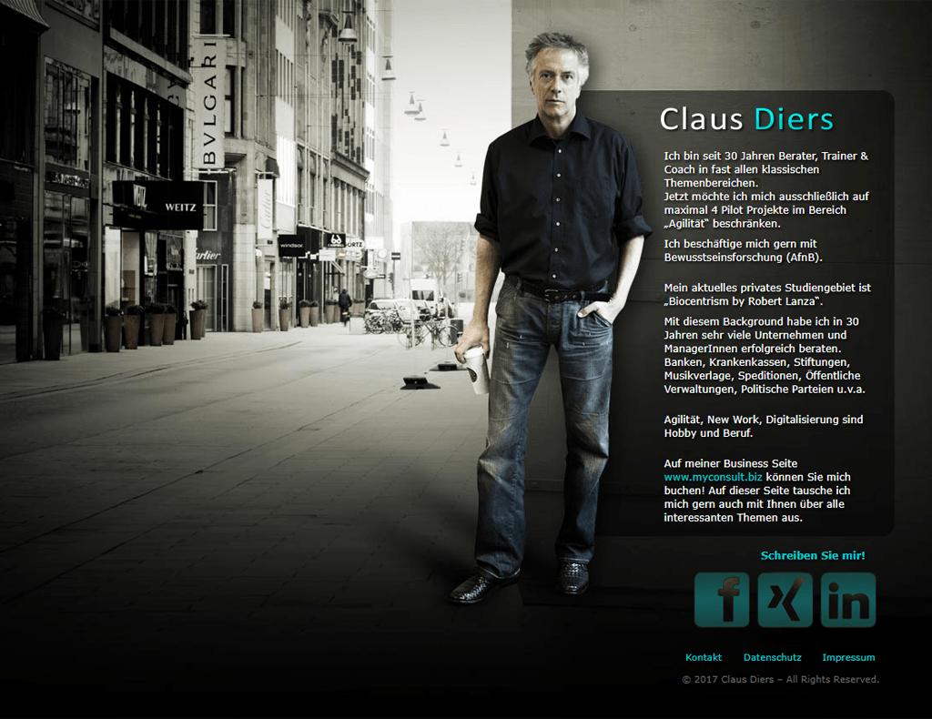 Claus Diers Website