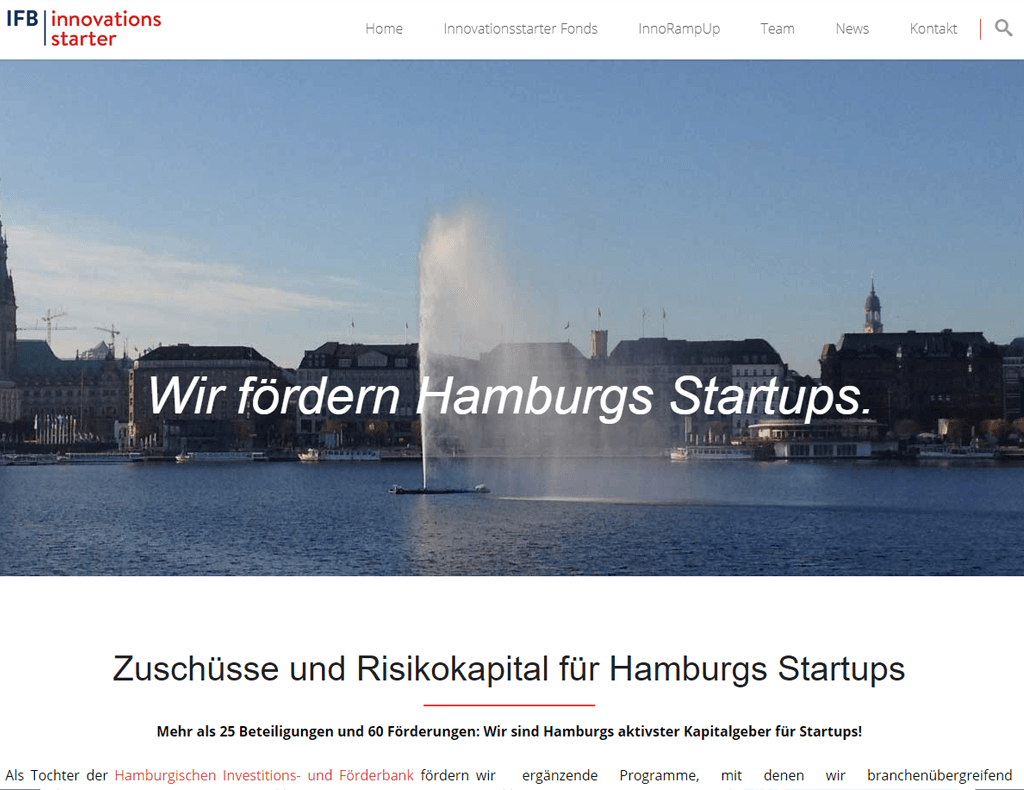 innovationsstarter.com Hamburg