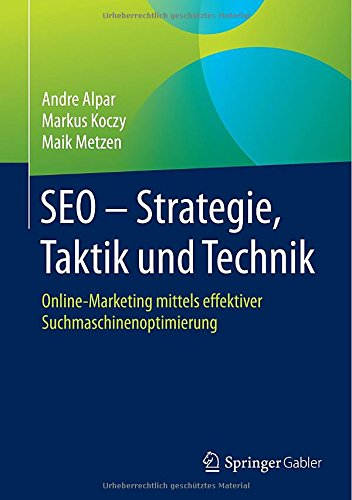 Rezension: SEO - Strategie, Taktik und Technik
