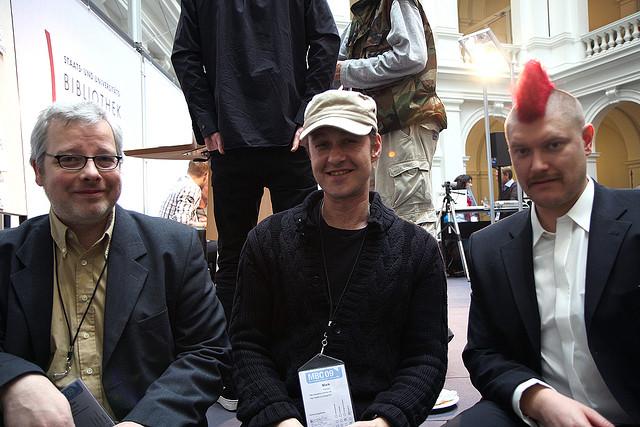 Ich und Sascha Lobo und Don Dahlmann