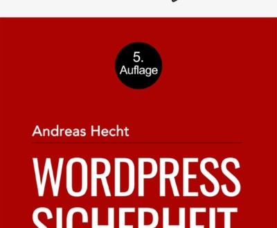 WordPress Sicherheit eBook-Cover