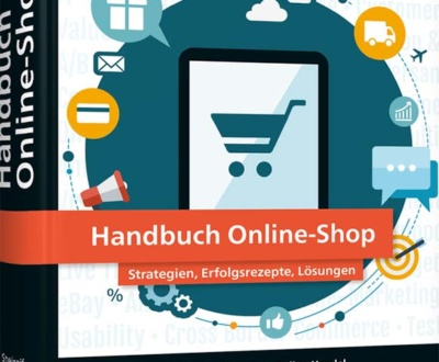 Buchcover Handbuch Online-Shop