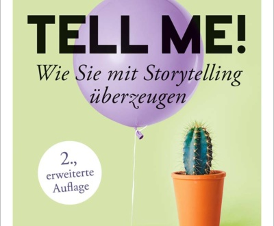 Buchcover: Tell me!