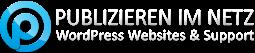 LOGO PIN - Publizieren im Netz - WordPress Webdesign & Support