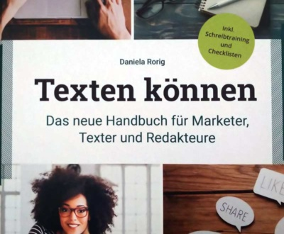 Buchcover Texten können: Das neue Handbuch für Marketer, Online-Texter und Redakteure