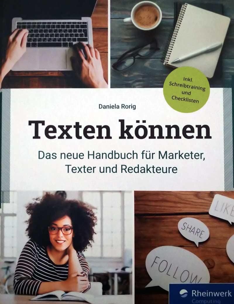 Read more about the article Mein Buchtipp: Texten können – Das neue Handbuch für Marketer, Online-Texter und Redakteure