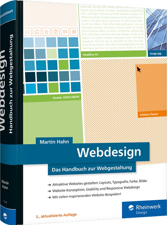 Cover: Webdesign Das Handbuch zur Webgestaltung