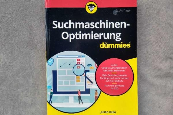 Cover: SEO lernen mit der DUMMIES-Serie