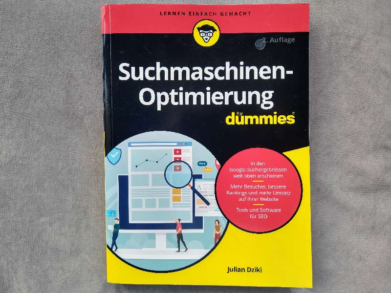 Read more about the article Suchmaschinenoptimierung  für dummies – einfach SEO lernen