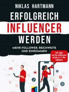 Buchcover: Erfolgreich Influencer werden
